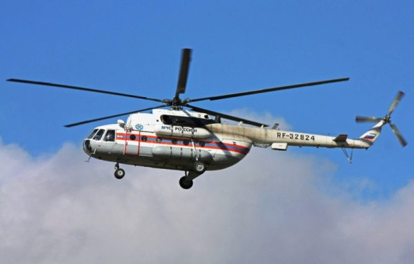 В Подмосковье разбился вертолет МЧС, экипаж погиб