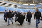 Митрополит Петербургский Варсонофий помолился о строительстве «Зенит-Арены»