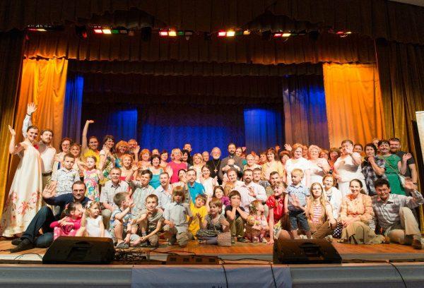 Ежегодный концерт в семейном клубе трезвости