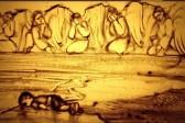 Ксения Симонова опубликовала песочный фильм о погибшем сирийском мальчике