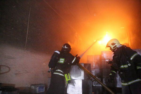 Размещен список пропавших пожарных наскладе в столице