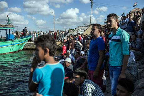 Около Египта 162 мигранта погибло при крушении судна