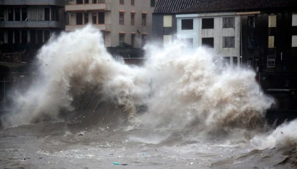 К Приморью приближается еще один тайфун