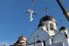 В Новомосковском округе построен храм Воскресения Христова