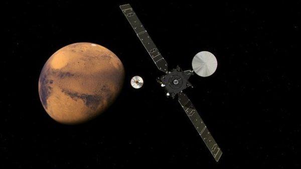 Марсианский опыт России и Европы: 50 на 50