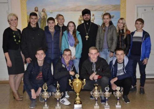 Запорожская епархия провела Православные спортивные игры