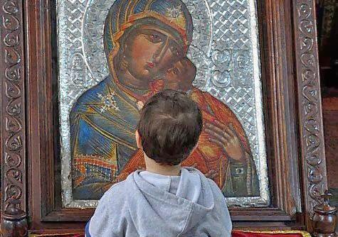 Богородица — первая среди встречающих