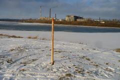 Под Красноярском установили памятник Ивану Грозному в виде кола