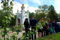 Наталья Поклонская открыла часовню возле прокуратуры Крыма