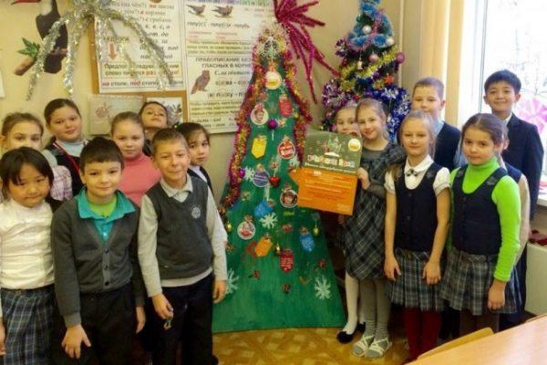 Столичные школьники соберут новогодние пожертвования для больных детей