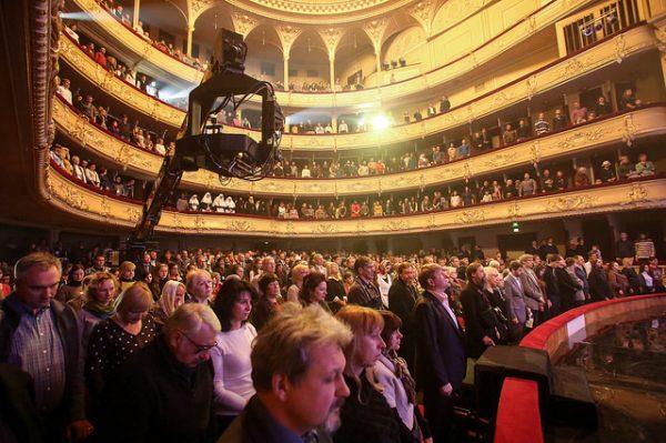 """Церемония открытия XIV Кинофестиваля """"Покров"""" в Национальной опере Украины"""