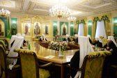 Началось заседание Священного Синода Русской Православной Церкви
