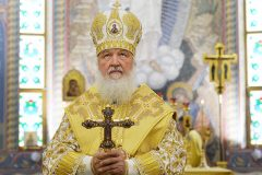 Патриарх: Власть должна всегда сознавать силу Божиего присутствия в истории