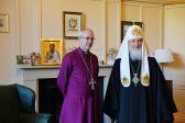 Патриарх Кирилл призвал Церковь Англии противостоять вызовам мира