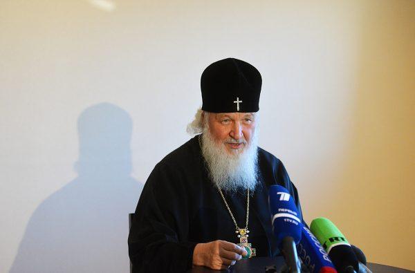 Патриарх Кирилл: Политические разногласия не поколебают отношений между народами