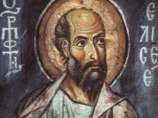 Пророк Елисей: житие, икона, акафист, молитва