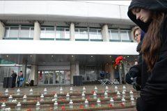 У Театрального центра на Дубровке вспомнили жертв Норд-Оста