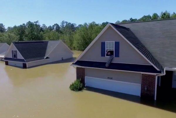 Сообщение в Twitter спасло американца от наводнения, вызванного ураганом