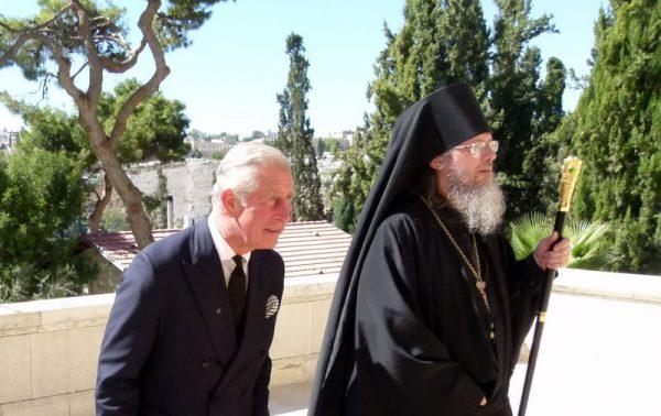 Принц Чарльз, побывав вИерусалиме, посетил усыпальницу собственной бабушки