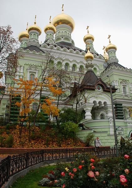 Никольский собор Покровского монастыря