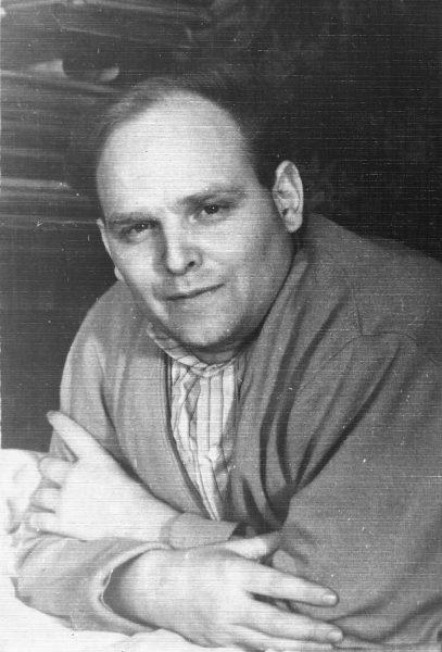 Евгений Фейерабенд. 1959 г.