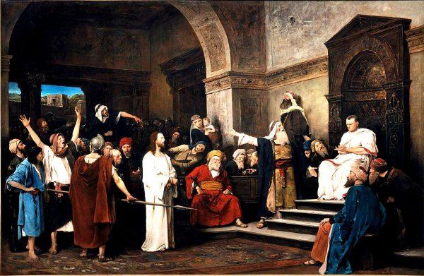 Христос перед Пилатом. Михай Мункачи
