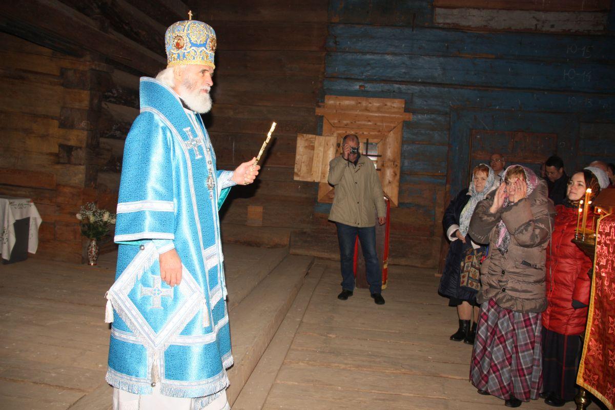 Втверской церкви XVII века совершили первую за100 лет Литургию