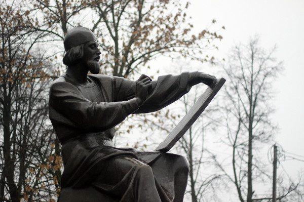 Памятник Андрею Рублеву во Владимире. Фото margueritta-pa.livejournal.com