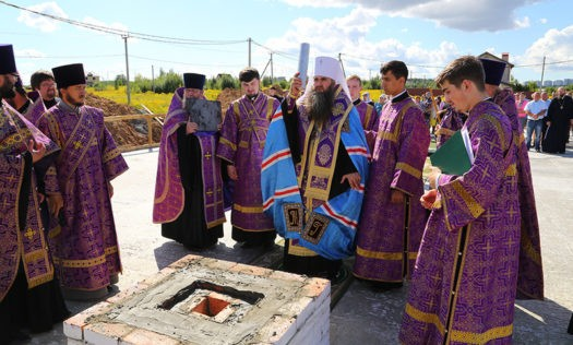 Три храма планируется заложить вАвтозаводском районе всередине осени