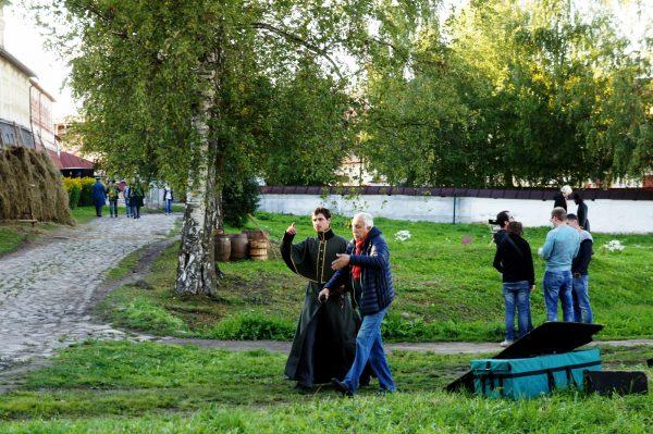 """Съемки фильма """"Монах и бес"""". cultinfo.ru"""