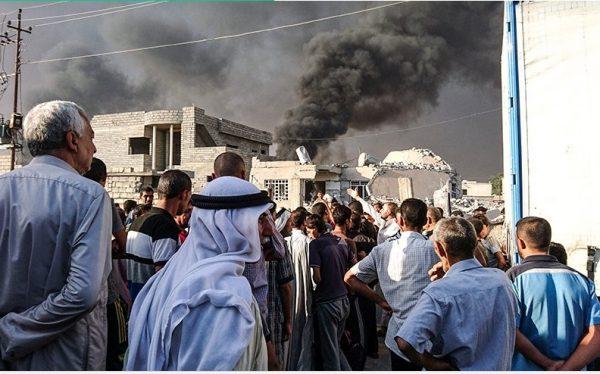 Христиане воздвигли крест в освобожденном от ИГИЛ городе