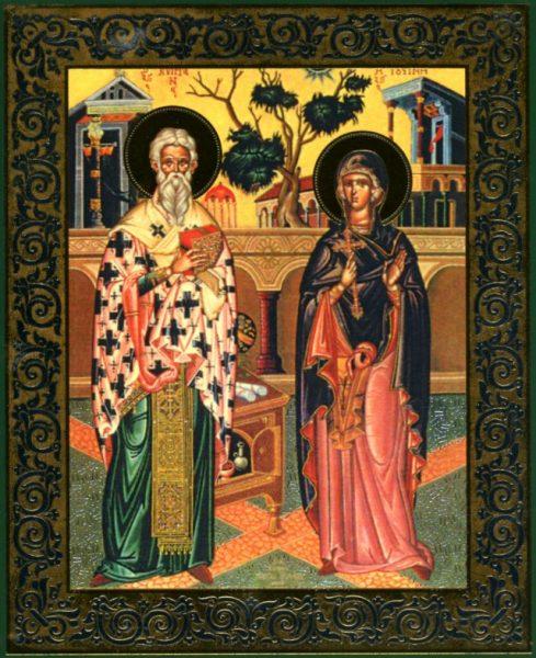 Киприан и Иустина, чудо