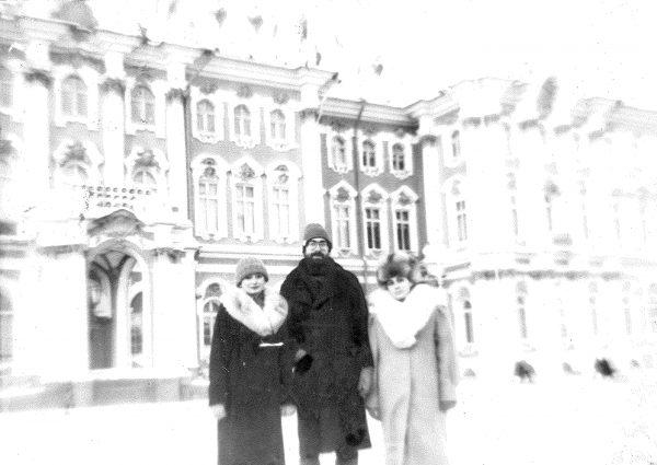 Из первой поездки в Россию