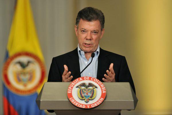 Лауреат Нобелевской премии мира - 2016 Хуан Мануэль Сантос