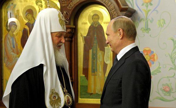 Патриарх Кирилл пожелал Путину крепости душевных сил и помощи Божией