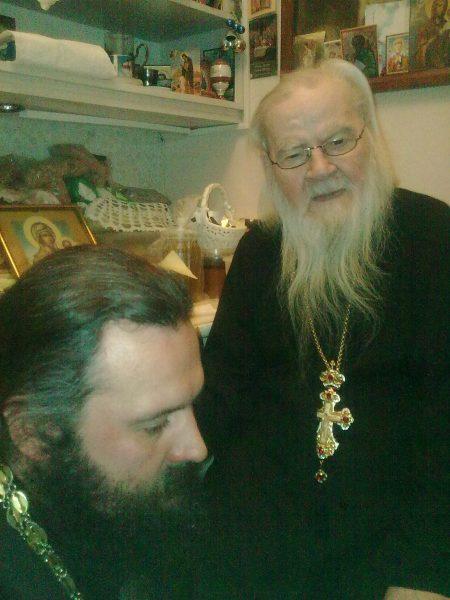 С архимандритом Адрианом (Кирсановым)