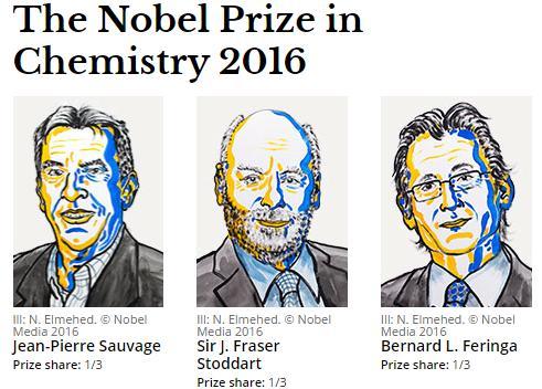 Нобелевскую премию по химии вручили создателям молекулярных машин