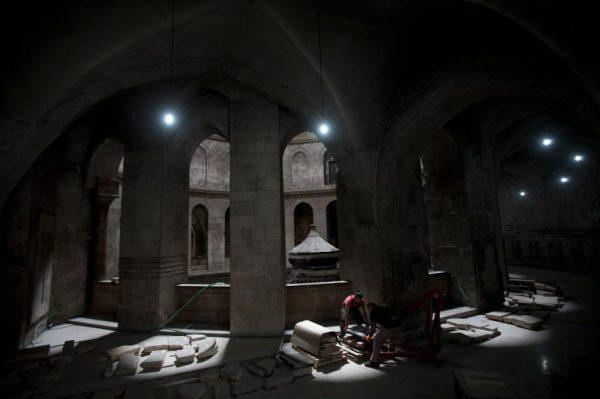 Ученые разгадывают тайну странных помехов в монастыре Гроба Господня