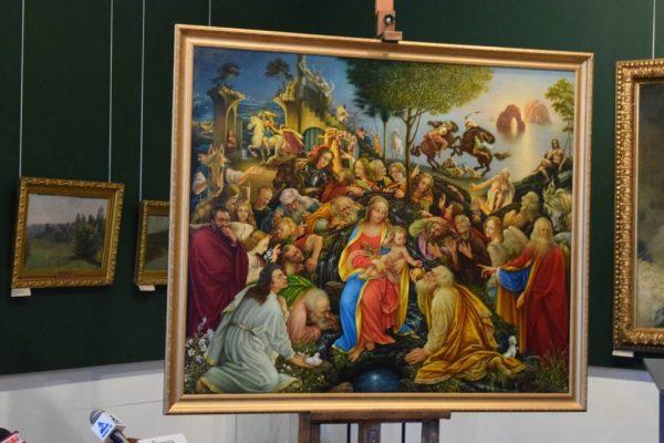 Российский художник дописал незаконченную картину Леонардо да Винчи