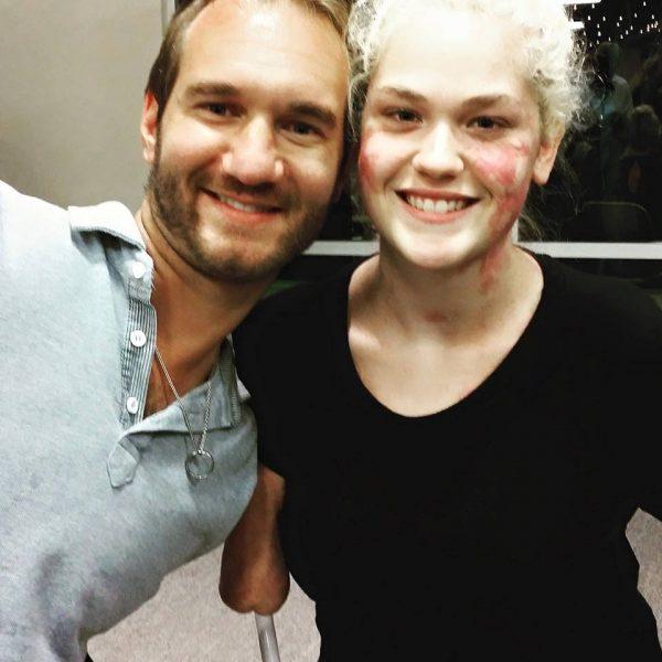 Кейтлин и Ник Вуйчич. Фото: instagram / kaitlyndobrow