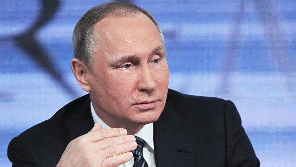 Путин поручил разработать закон о российской нации