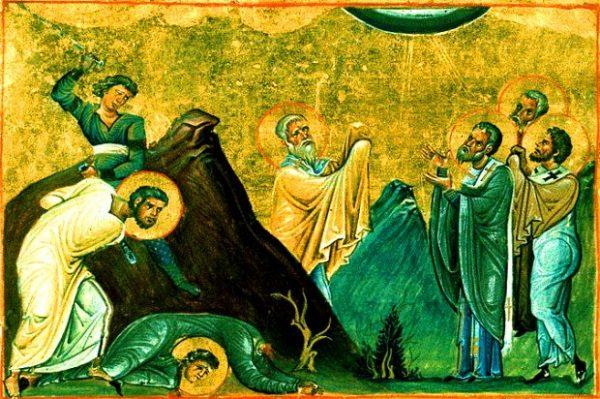 Церковь вспоминает апостолов от 70-ти: Ераста, Олимпа, Родиона, Сосипатра, Куарта и Тертия