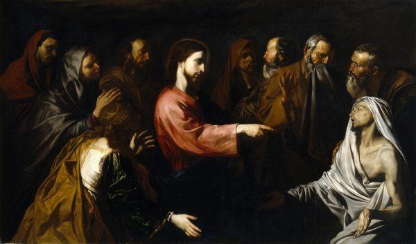 """Хосе де Рибера. """"Воскрешение Лазаря"""""""