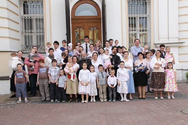 Семья отца Александра