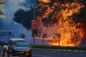На севере Израиля вспыхнули новые очаги природных пожаров