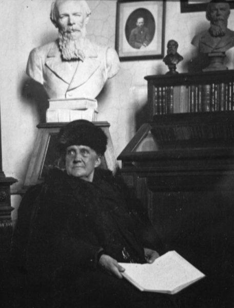 Анна Достоевская. 1916 год