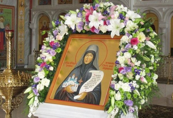 Тысячи верующих посетили торжества в честь прославления Арсении (Себряковой)