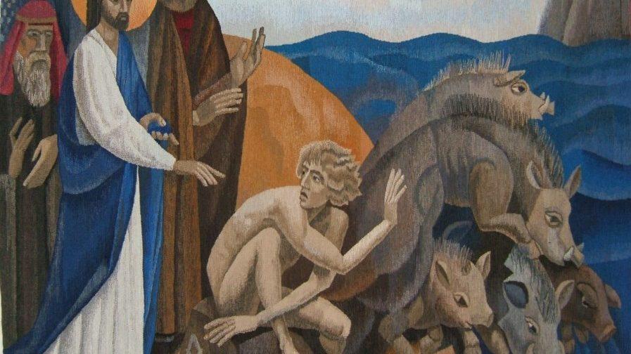 О чем должен был рассказать бесноватый, которого исцелил Христос?