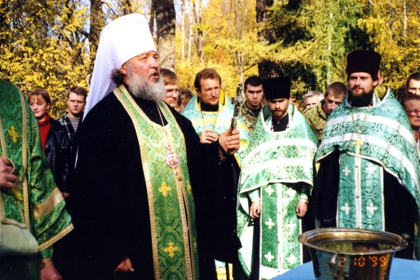 Молебен. Смоленск. 1990-е гг.
