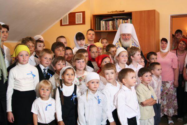 Посещение православной гимназии в Калининграде. 21 июля 2008 г.